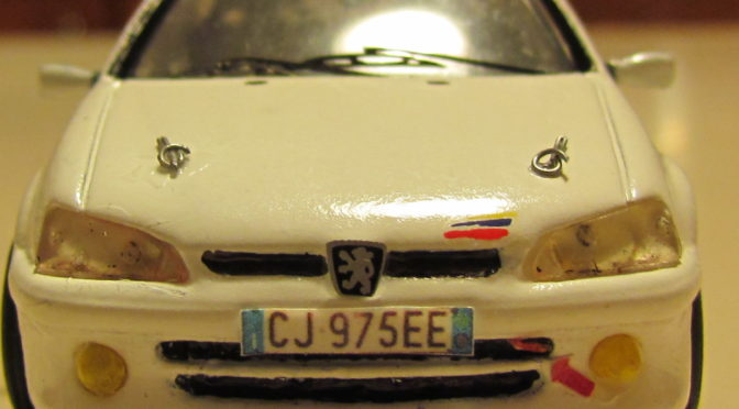 Modellismo – Peugeot 106 Rallye 1/43