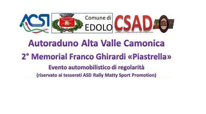 """2° Memorial Franco Ghirardi """"Piastrella"""" – 23-24 settembre 2017"""