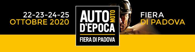 Auto e Moto d'Epoca, Padova 22-25 ottobre 2020