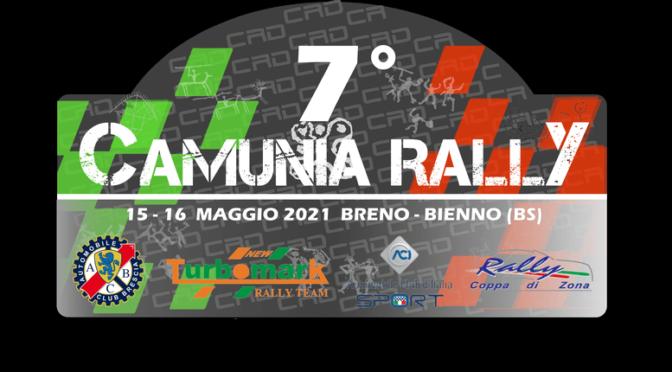 7° Camunia Rally – 15/16 maggio 2021