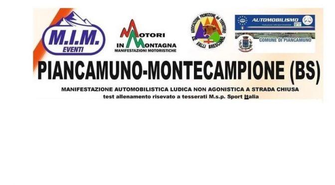 Piancamuno – Montecampione, 27 giugno 2021