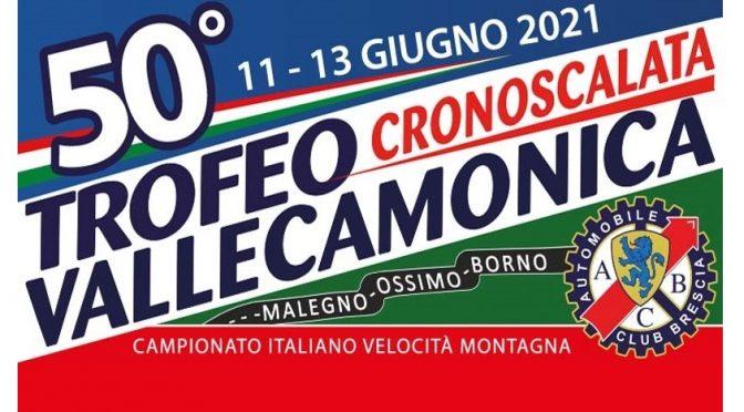 50° Trofeo Vallecamonica, 11-13 giugno 2021